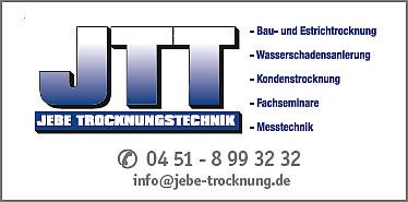 Jebe Trocknungstechnik in Bad Schwartau